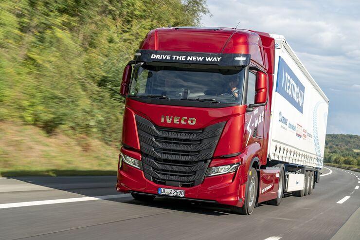 Iveco S-Way 480 Test