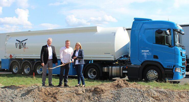 Scharf Transport ist neuer Gesellschafter des Tankstellennetzes VTM fair
