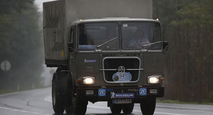 12. Deutschlandfahrt für historische Nutzfahrzeuge