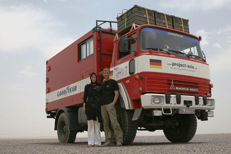 Abenteuer FERNFAHRER 11-2010, Project-Asia - mit einem Magirus Deutz 170 D 11 von Darmstadt nach Singapur