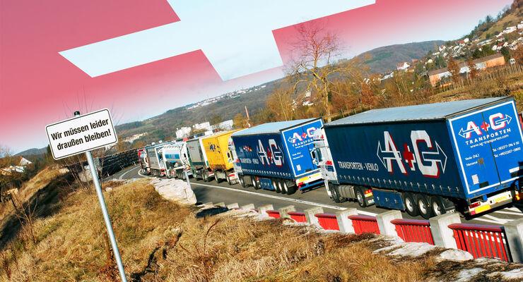 Abschottung, Schweizer, Landverkehrsabkommen