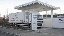 Air Liquide H2 Wasserstoff Tankstelle Lkw Nutzfahrzeuge 2020