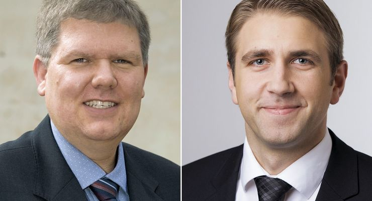 Alexander Roas (li.) und Matthias Heinrich sind neu im Fraikin-Managment.