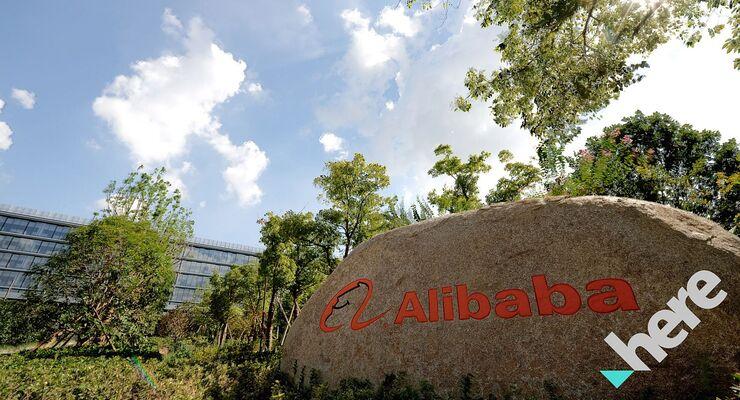 Alibaba und Here kooperieren.