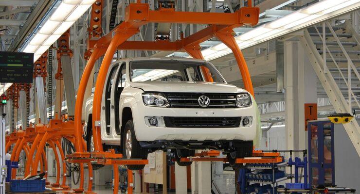 Amarok, Produktion, VW Nutzfahrzeuge