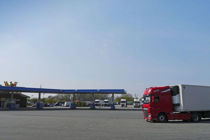 Aral-Autohof Neuenkirchen-Vörden, Truckstop FF 8/2018.