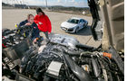 Audi R8 gegen Scania R730