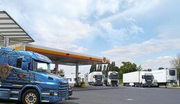 Autohof Dresden Neustadt, FF 10/2019 Truckstop