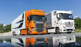 Automatik-Vergleich Scania vs. Mercedes-Benz