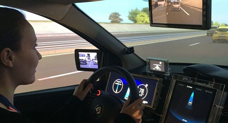 Autonomes Fahren bei Renault