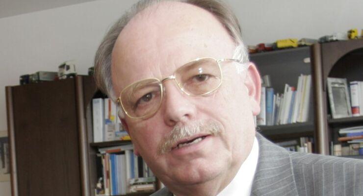 BGL-Hauptgeschäftsführer Prof. Dr. Karlheinz Schmidt, 2011