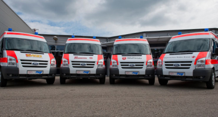 Bayerns Lebensretter setzen auf Ford