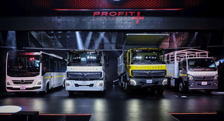 BharatBenz Lkw und Busse 2020