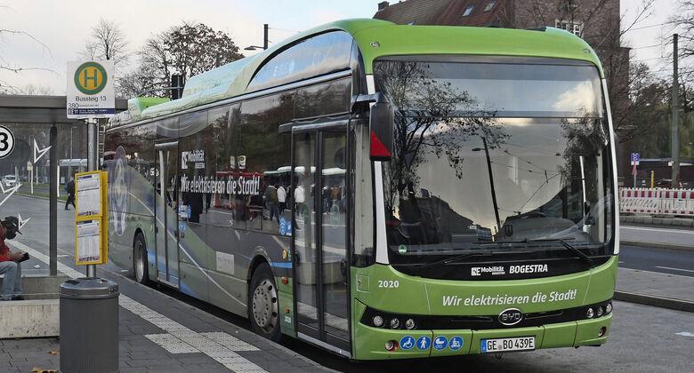 Bogestra BYD Elektrobus 2021