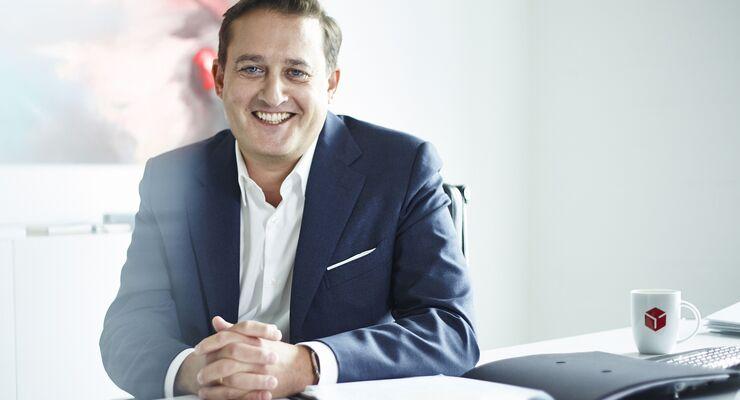 Boris Winkelmann ist neuer Chef der Geo Post, dem Mutterkonzern von DPD.