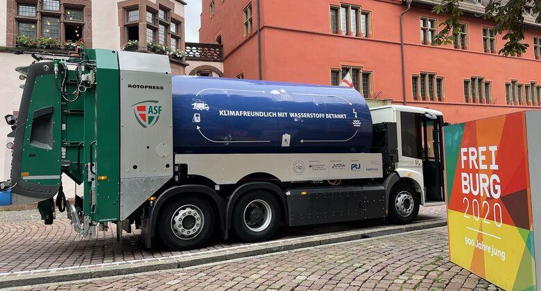 Brennstoffzellen-Lkw in Freiburg