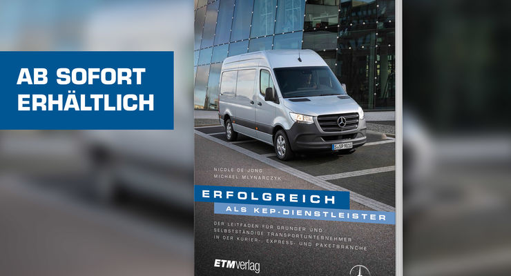 """Buchtitel """"Erfolgreich als KEP-Dienstleister"""" (2018)"""