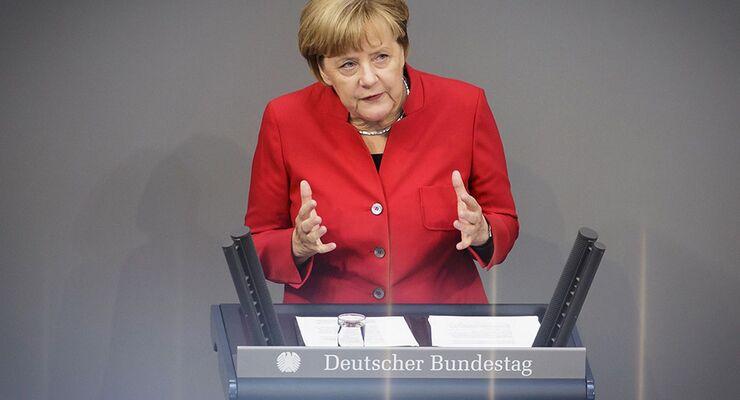Bundeskanzlerin Angela Merkel 2016