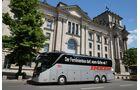Bus-Demo durch Berlin
