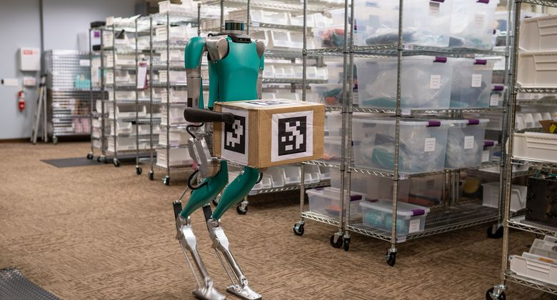 CES 2020 in Las Vegas: Ford zeigt humanoiden Roboter Digit