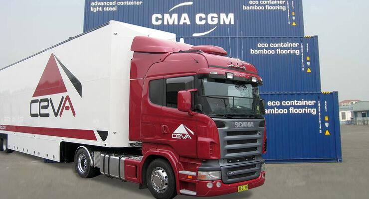 CMA CMG schickt sich an, Ceva Logistics zu übernehmen.