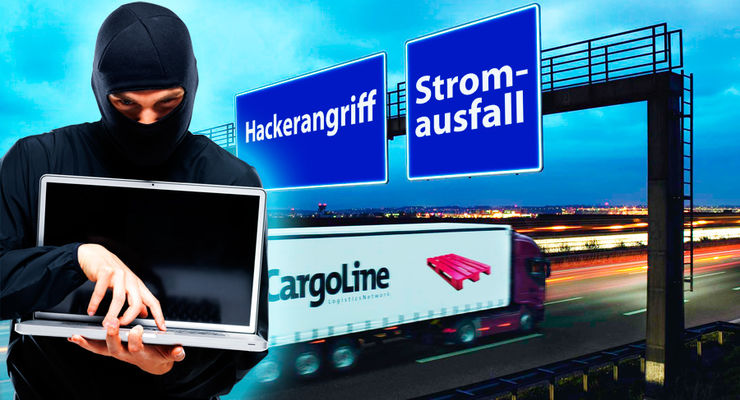 Cargoline, Hackerangriff, Stromausfall