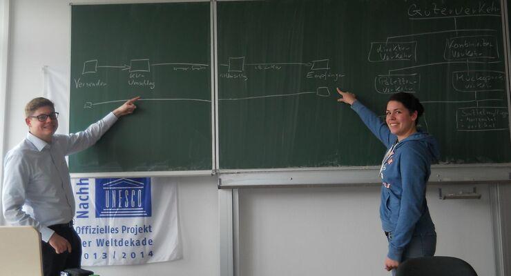 Christian Küppers, Clarissa Dewald, Berufsschüler Köln