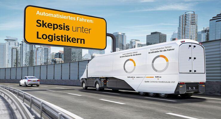 Continental-Studie zum automatisierten Fahren