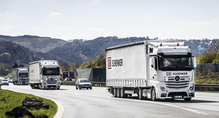 DB Schenker ist Logistikpartner des MERCEDES AMG PETRONAS Formel 1 Teams