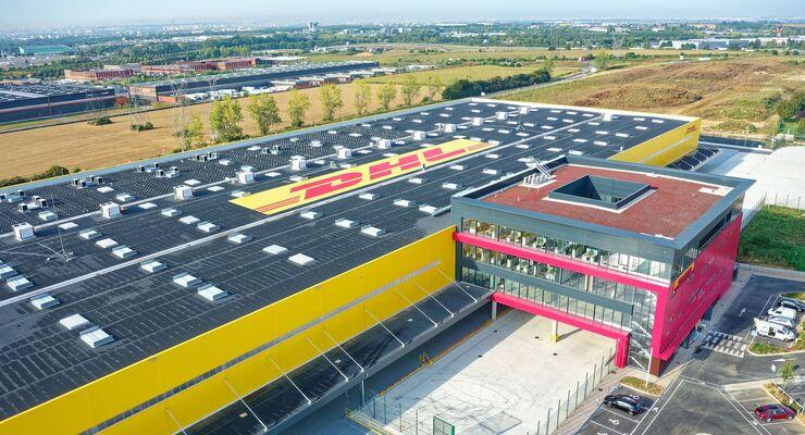 DHL Express eröffnet Drehkreuz am Flughafen Paris-Charles-de-Gaulle.