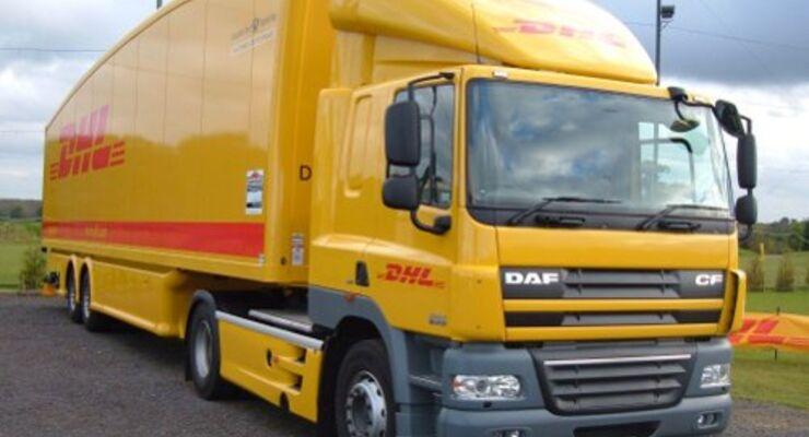 DHL zeigt neuen Tropfen-Anhänger