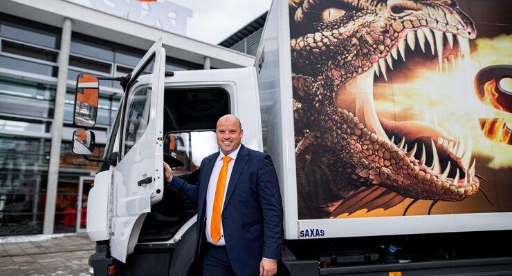 Daniel Marasch, Vorstand für Van & Truck bei Sixt