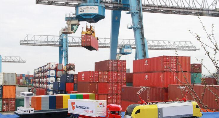 Das trimodale Container-Netzwerk Contargo.