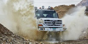 Der robuste Gelände-Lkw: Neuer Mercedes-Benz Zetros