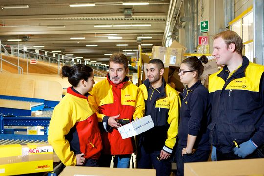 Deutsche Post DHL Group, Auszubildende, Azubis