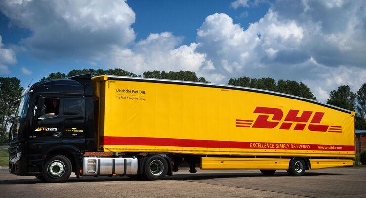 Deutsche Post DHL fŸhrt ersten Teardrop Trailer ein