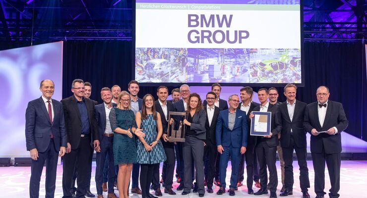 Deutscher Logistik-Preis 2019 der BVL geht an BMW