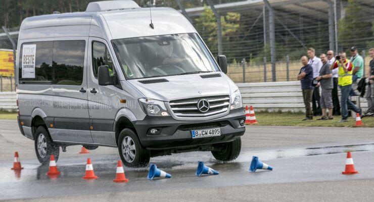 Deutschlands beste Transporterfahrer