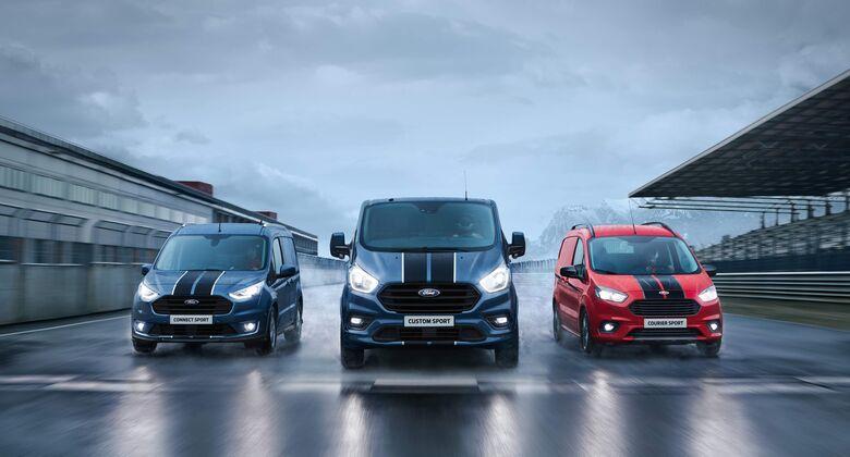 Die Ford Transit Sport-Modelle
