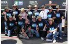 Die Initiative DocStop hat prominente Unterstützung: Dagmar Lay D. und Jochen Hahn zusammen DocStop Fans und Initiator Rainer Bernickel.