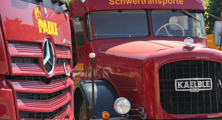 Die Spedition Paule aus Stuttgart feiert ihren 100. Geburtstag. Hier einige Impressionen von damals und heute.