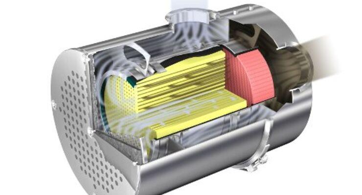 Dieselpartikelfilter für Volvo-Lkw