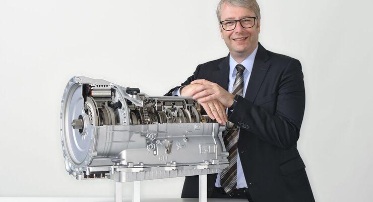 Dr. Stefan Sommer, Chef von ZF