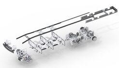 EDAG Lkw Chassis modular 4x2 6x4 Verteilerverkehr Fernverkehr Heavy Delivery Dieselantrieb Erdgasantrieb Brennstoffzelle Elektroantrieb Konzept IAA Nutzfahrzeuge 2018