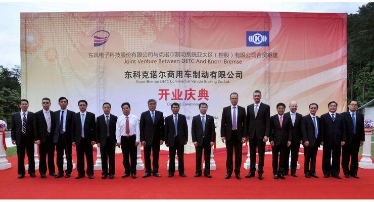 Eröffnung Dongfeng/Knorr-Bremse