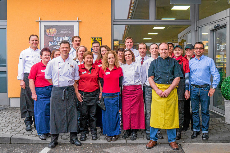 Euro-Rastpark Schweitenkirchen, Team