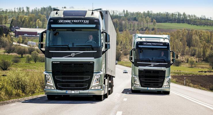 """FERNFAHRER-Leser bekommen die Chance, den Volvo FH 540 mit dem neuen Doppelkupplungsgetriebe """"i-Shift Dual Clutch"""" selbst zu testen."""