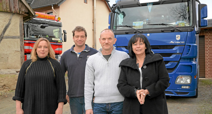Fahrer engagieren sich, Sylvia Steinbach-Schulze, Ingo Schulze, Horst Fritsche, Melly Eisenträger