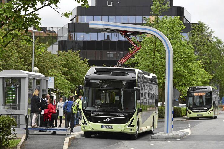 Fahrzeuge-Projekt Electri-City von Volvo