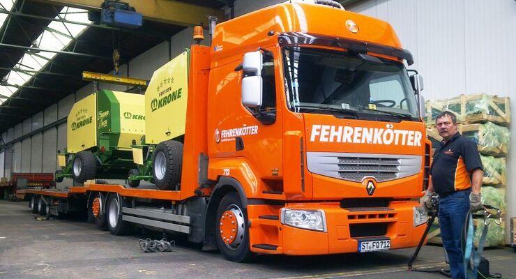Fehrenkötter, Renault Magnum, Test